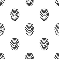 fingerprint, vector seamless pattern .