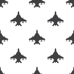fighter, vector seamless pattern .