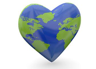 Love The Earth - 3D