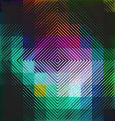Colorful abstract technology background