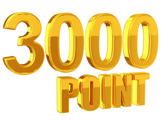 3000 Points