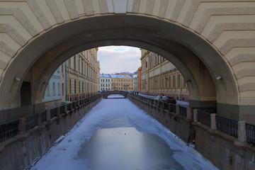 Санкт-Петербург, набережная Зимней канавки