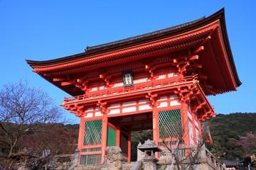 Japan - Kyoto. Kiyomizu Dera Temple.