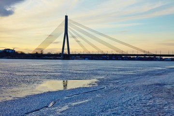 Bridge in Riga