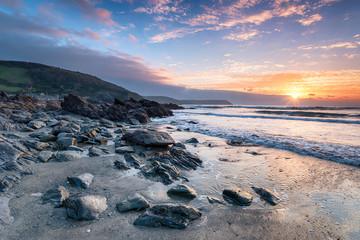 The Cornwall Coastline at Portholland