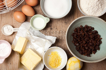 ingredients for bundt cake