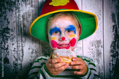 Kinderkostüm Junge beim Fasching - 75957270