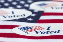 """Постер, картина, фотообои """"I Voted"""""""