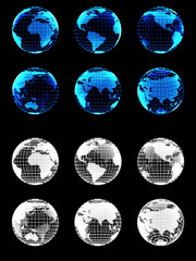 Digital Globes for Media