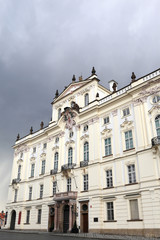 View of white palace