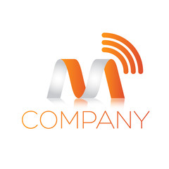 M logotype