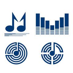 music logotype