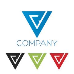 R V logotype