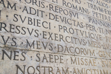 Res Gestae dell'imperatore Augusto