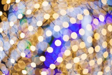 bokeh light bulb background