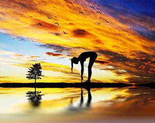 gimnasia bajo el cielo