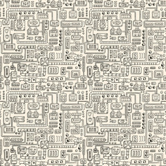 Electrical appliances seamless pattern