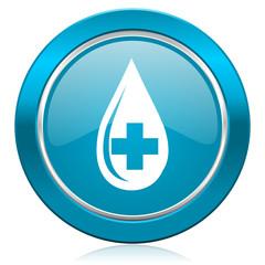 blood blue icon