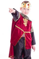 kleiner König Sohn - isoliert