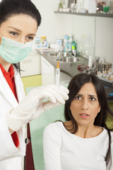 Dentist and anesthesia