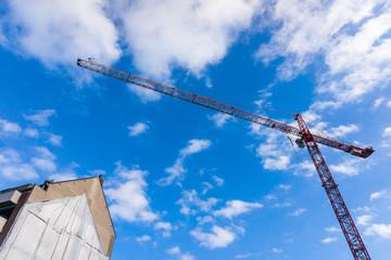 Building crane