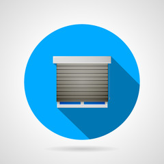 Window flat vector icon