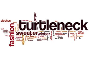 Turtleneck word cloud
