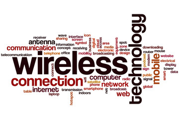 Wireless word cloud