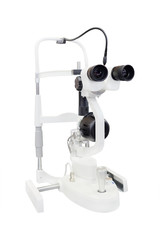 medical microscope isolated