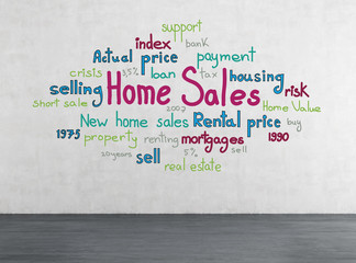 drawing home sales