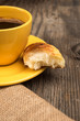 Coffee and roll