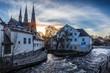 Uppsala from the bridge