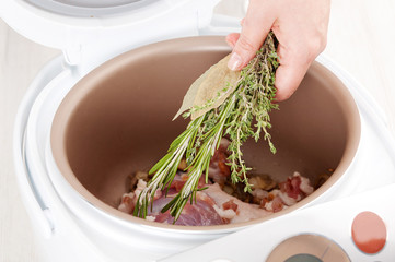 cooking in multicooker