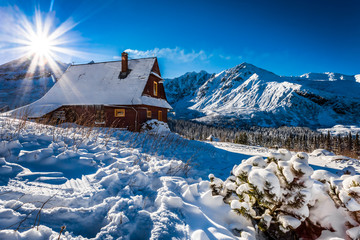 Enjoy your accommodation in winter mountains