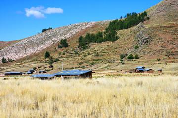 rural scene Puno