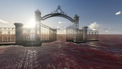 Gate to heaven