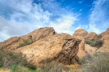 Vasquez Rocks Natural Area Park After the Rain