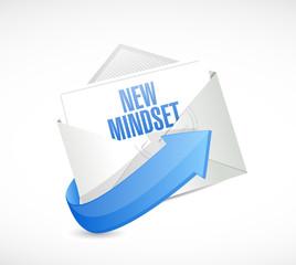 new mindset envelope email illustration design