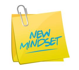 new mindset memo post illustration