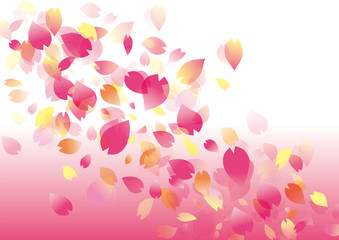 桜舞う_花びら_グラデ