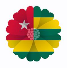 Flag flower Togo