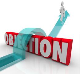Objection Overcoming DIspute Challenge Negative Feedback Arrow O