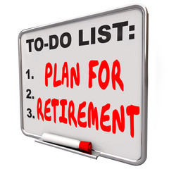 Plan Your Retirement To Do List Income Saving Golden Years Messa