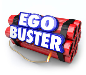 Ego Buster Dynamite Bomb Discouraging Feedback Criticism