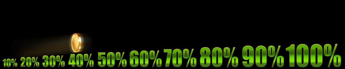 Growing percents