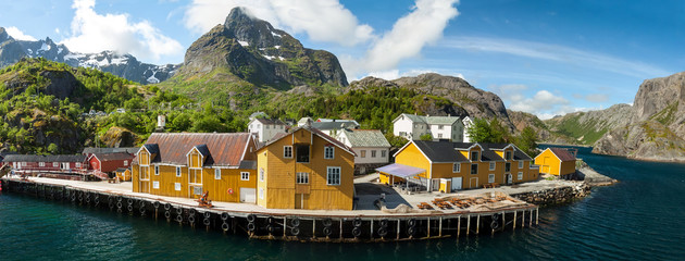 Picturesque village  Nusfjord
