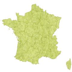 フランス 地図 国