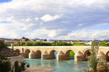 Great Mosque and Roman Bridge, Cordoba, Spain