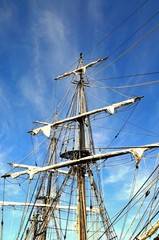 Tall ship rigging © Arena Photo UK