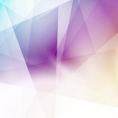 Modern triangular structure crystal background